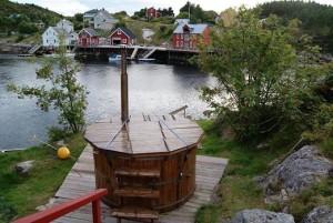 Na zimne dni norweska domowa sauna (fot. Jacek Malinowski)