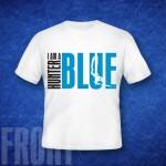 koszulka, wzór BLUEHUNTER 001