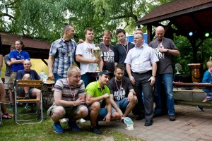 KHP Hydra po dekoracji wraz z Prezesem TPW ZDRÓJ Dariuszem Drukarczykiem