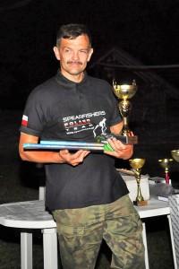 Marek Ziomek, zwycięzca zawodów głównych